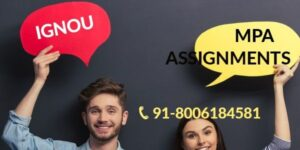 IGNOU MPA SOLVED ASSIGNMENT 2021-22